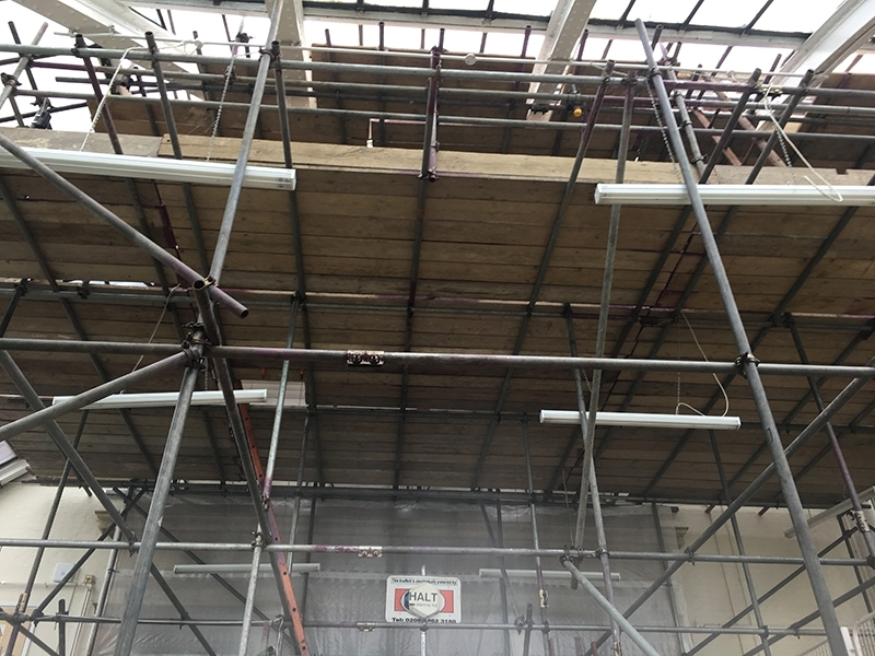 Scaffolding services in Orpington