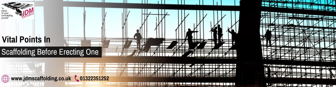 Domestic scaffolding service